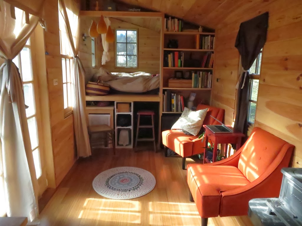 Rowan's Tiny House interior