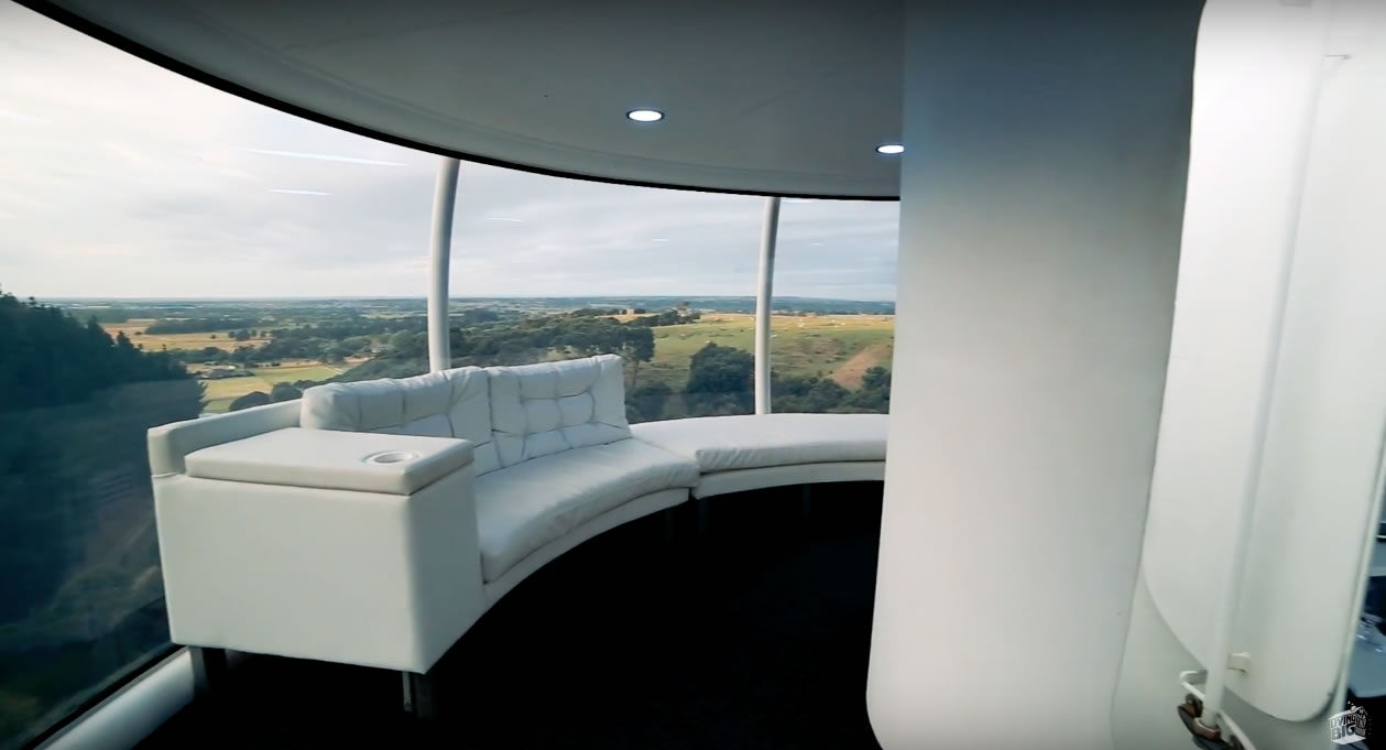 The Skysphere - High-Tech Futuristic - Interior