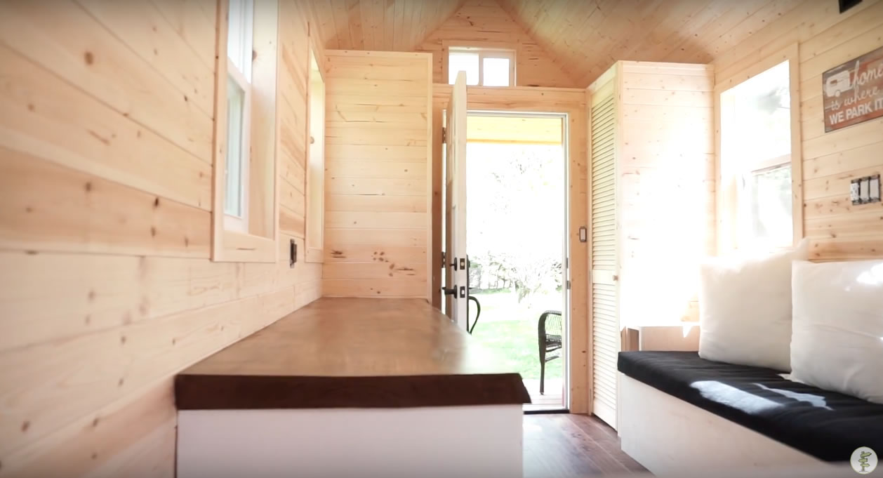 Red Door Tiny Homes - Craftsman 21 - Interior 2