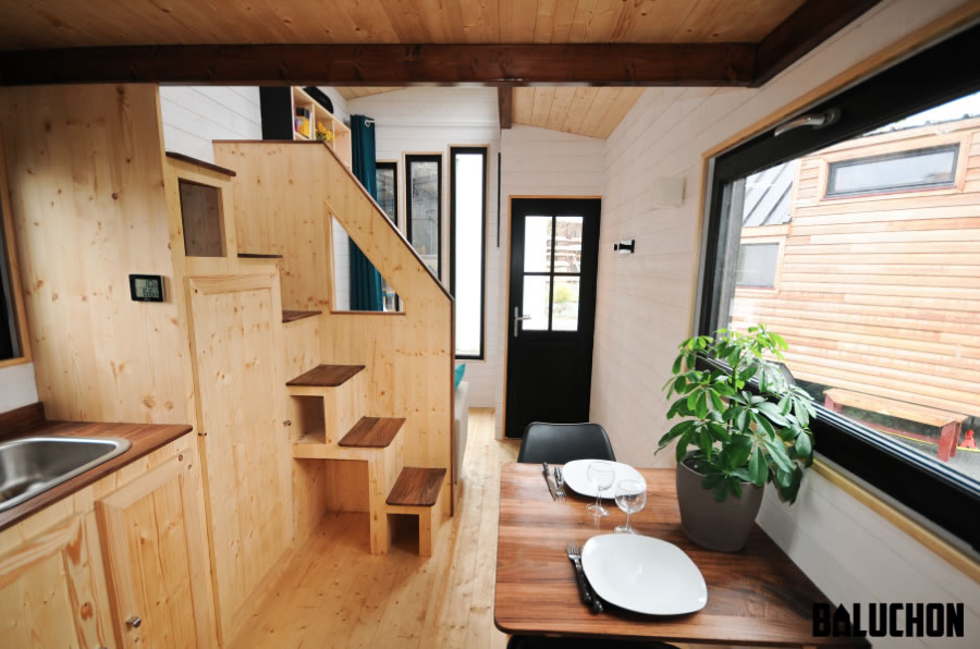 Escapade Tiny House by Baluchon - Interior 1