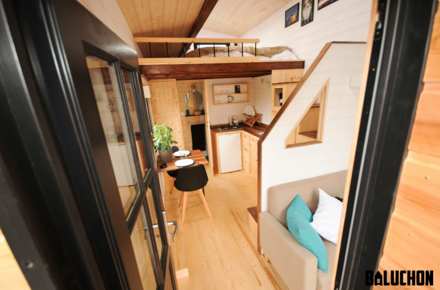 Escapade Tiny House by Baluchon - Interior 2