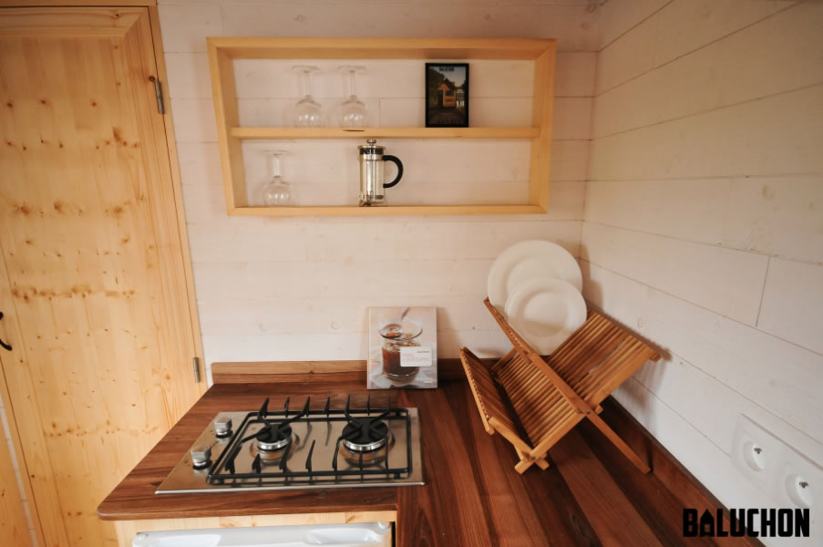 Escapade Tiny House by Baluchon - Kitchen Detail