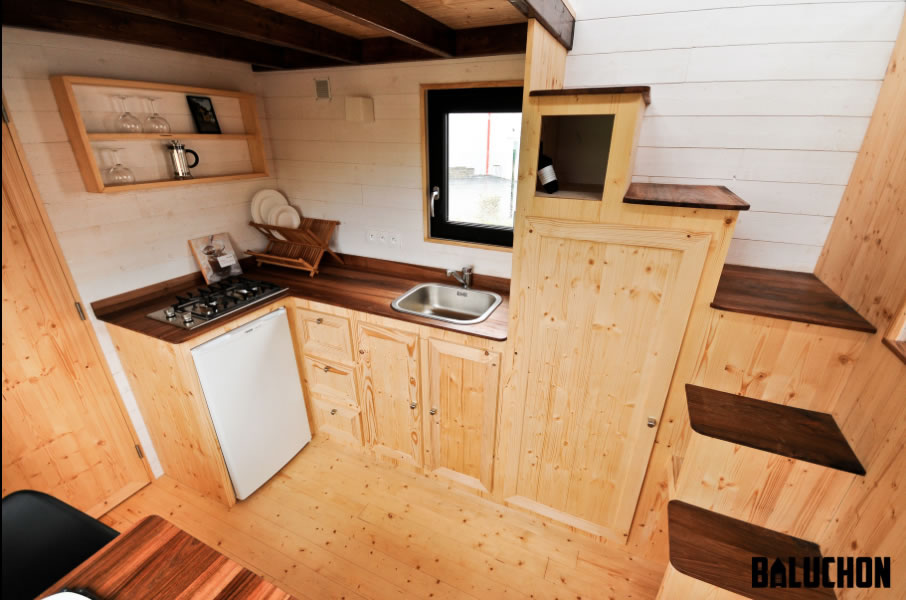 Escapade Tiny House by Baluchon - Kitchen
