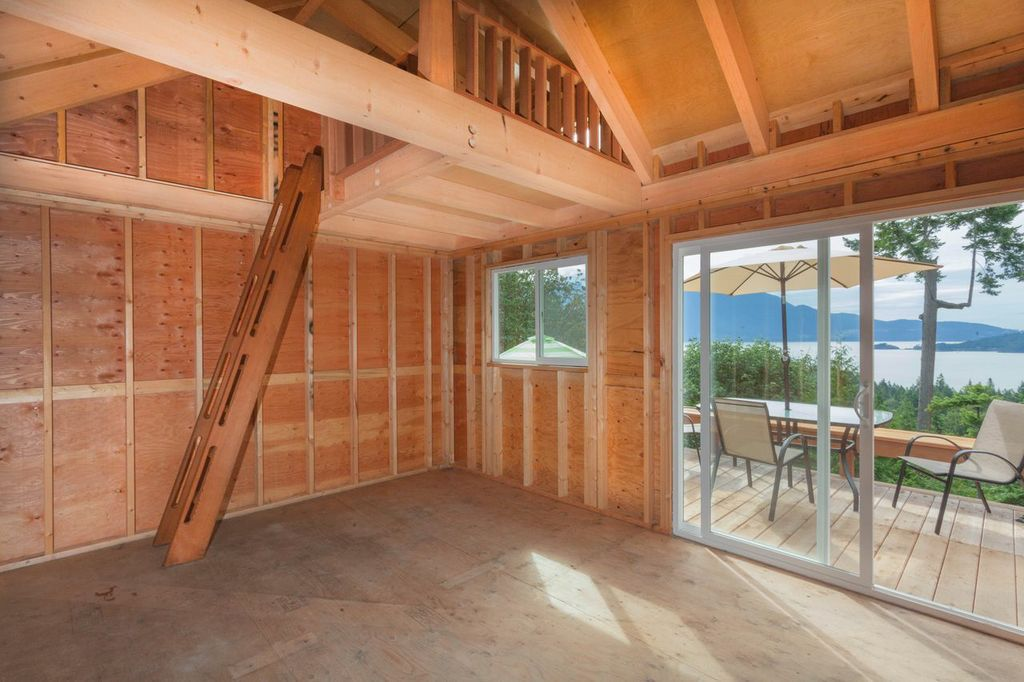Gambier Island Cabin to be finished