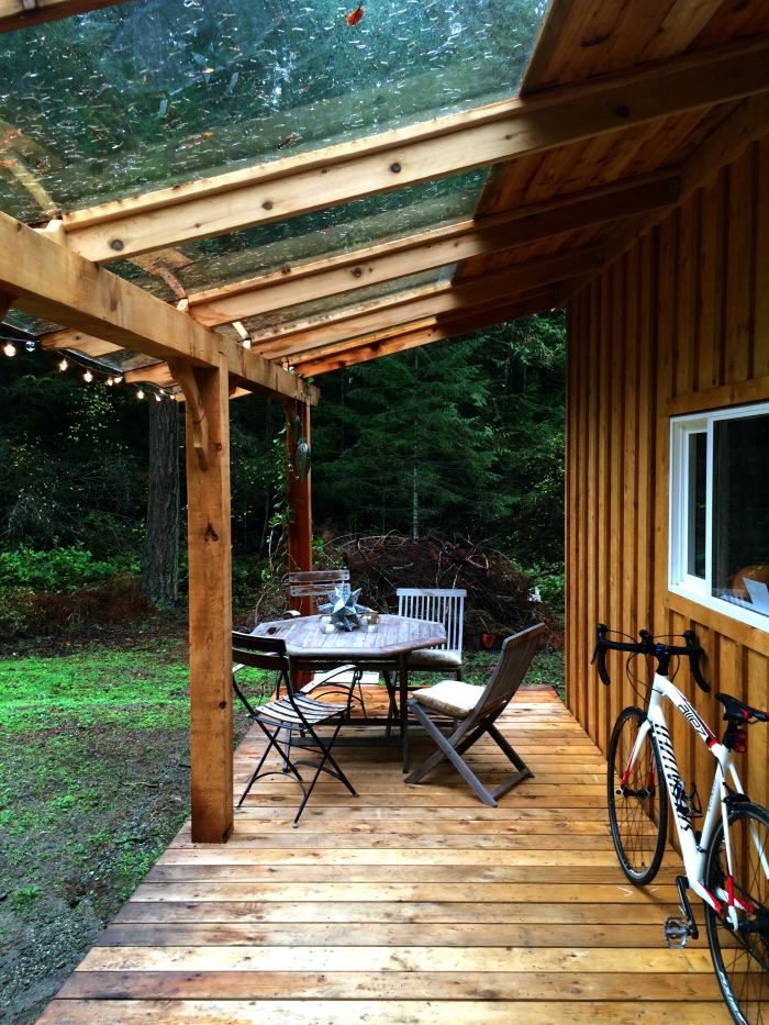 Keva Tiny House Porch