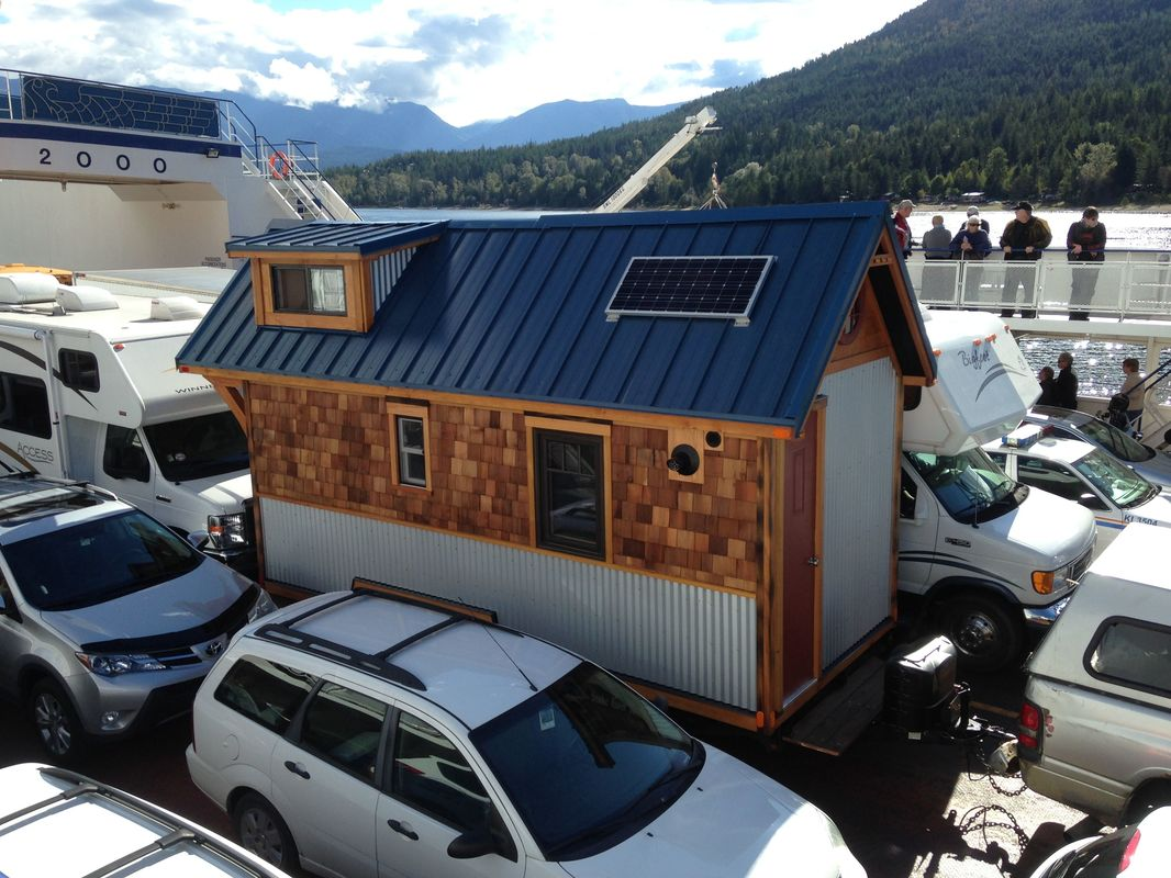 Kootenay Lake Ferry - Nelson Tiny Houses