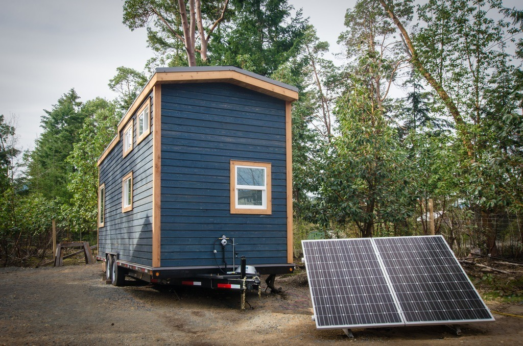 The Blue Heron by Rewild Homes - Solar